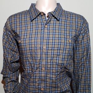 Patagonia Mens XL Button Shirt Organic Cotton